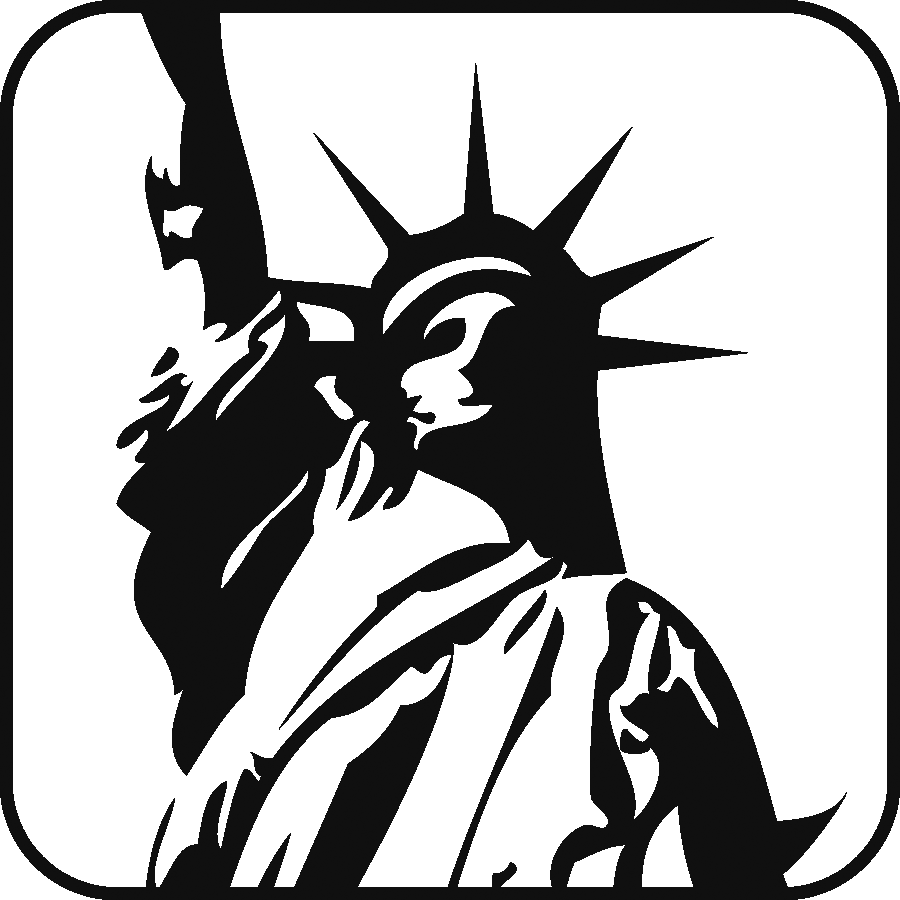 Icon: the Statue of Liberty